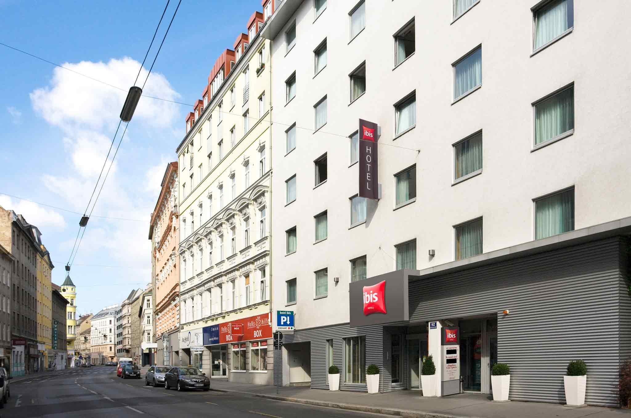 Ibis Wien City Außenansicht