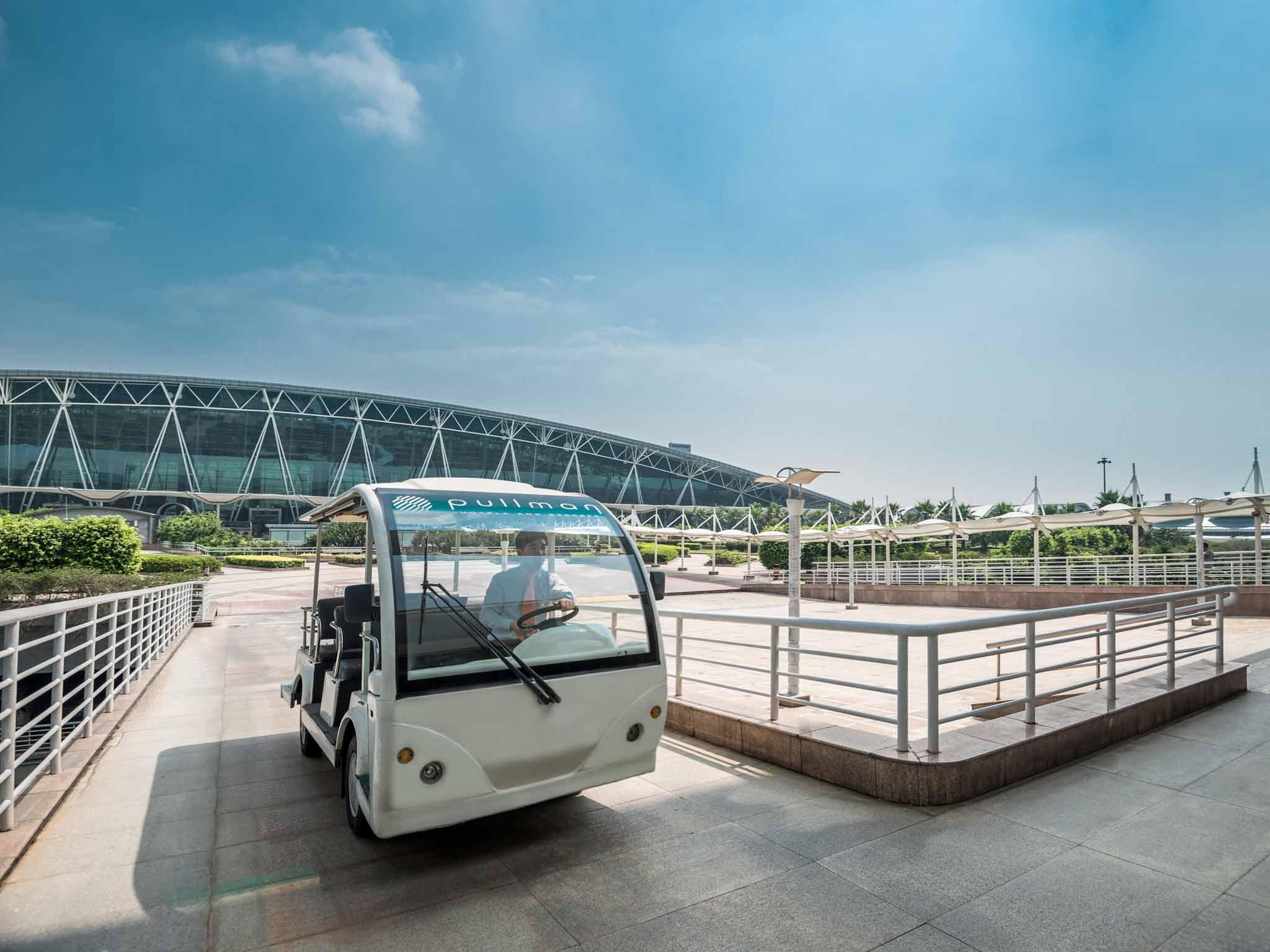 Pullman Guangzhou Baiyun Airport (Previously Novotel) Vista exterior
