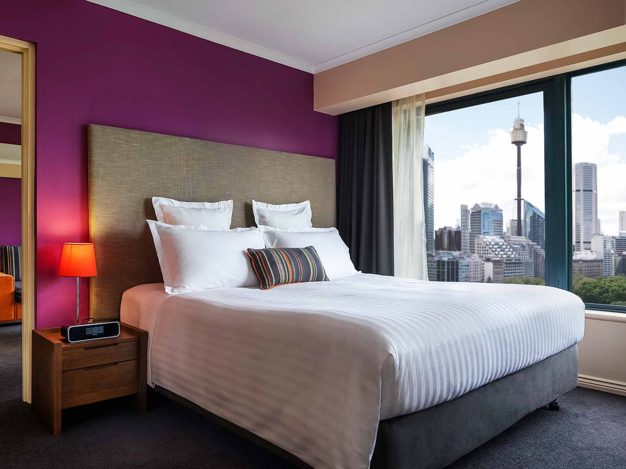 Pullman Sydney Hyde Park View of room