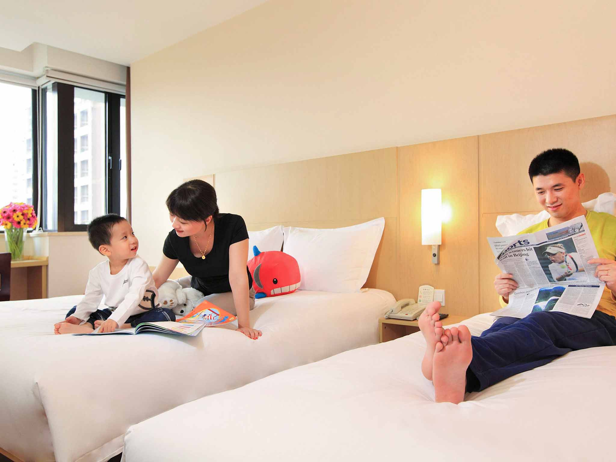 ibis Shanghai Yu Garden Hotel Szobakilátás