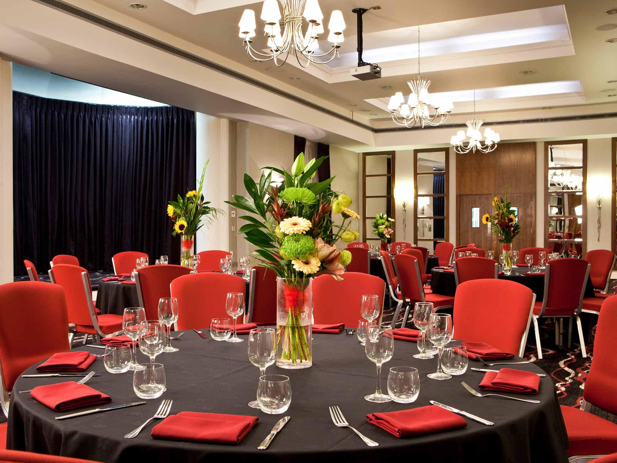 Mercure Nottingham City Centre Hotel Congreszaal