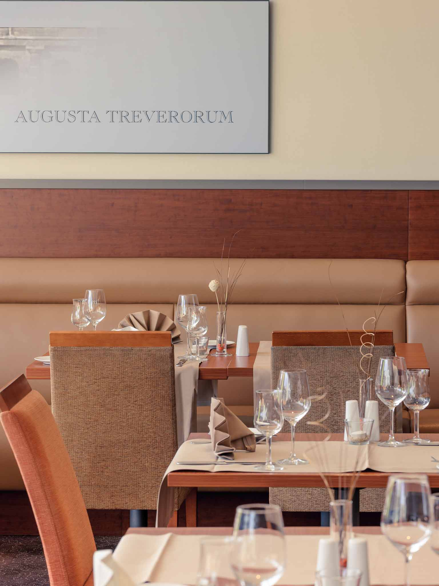 Mercure Hotel Trier Porta Nigra 餐饮设施