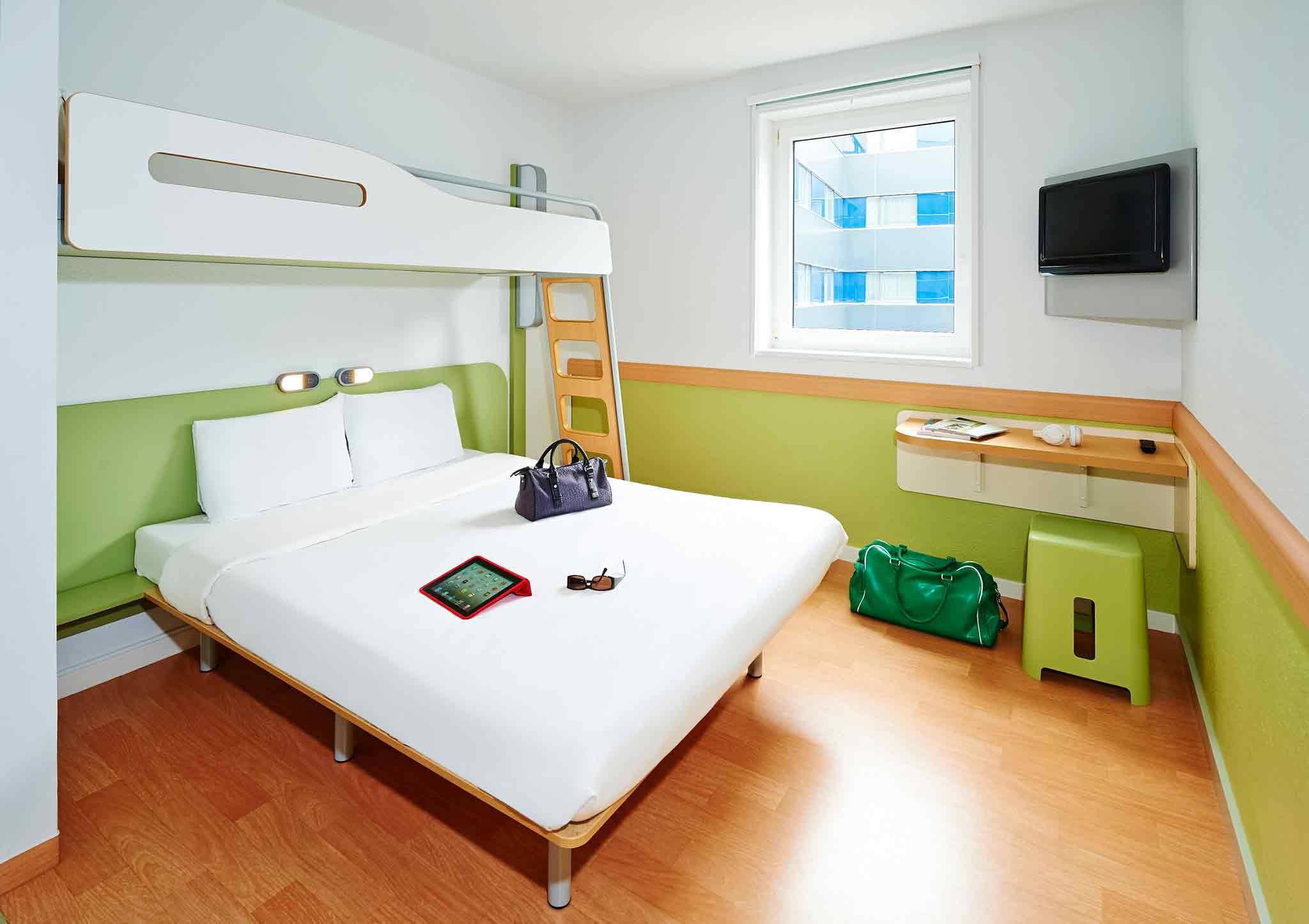 ibis budget Augsburg City (ex ETAP Hotel) Zimmeransicht