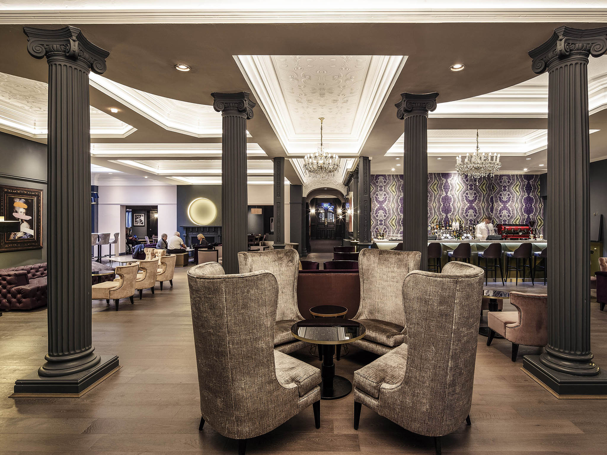 Mercure Leicester The Grand Hotel Lobby