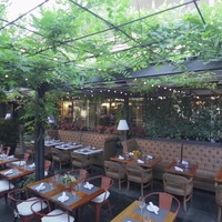 J House Restaurant Patio