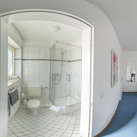 360 ° view double room standard shower
