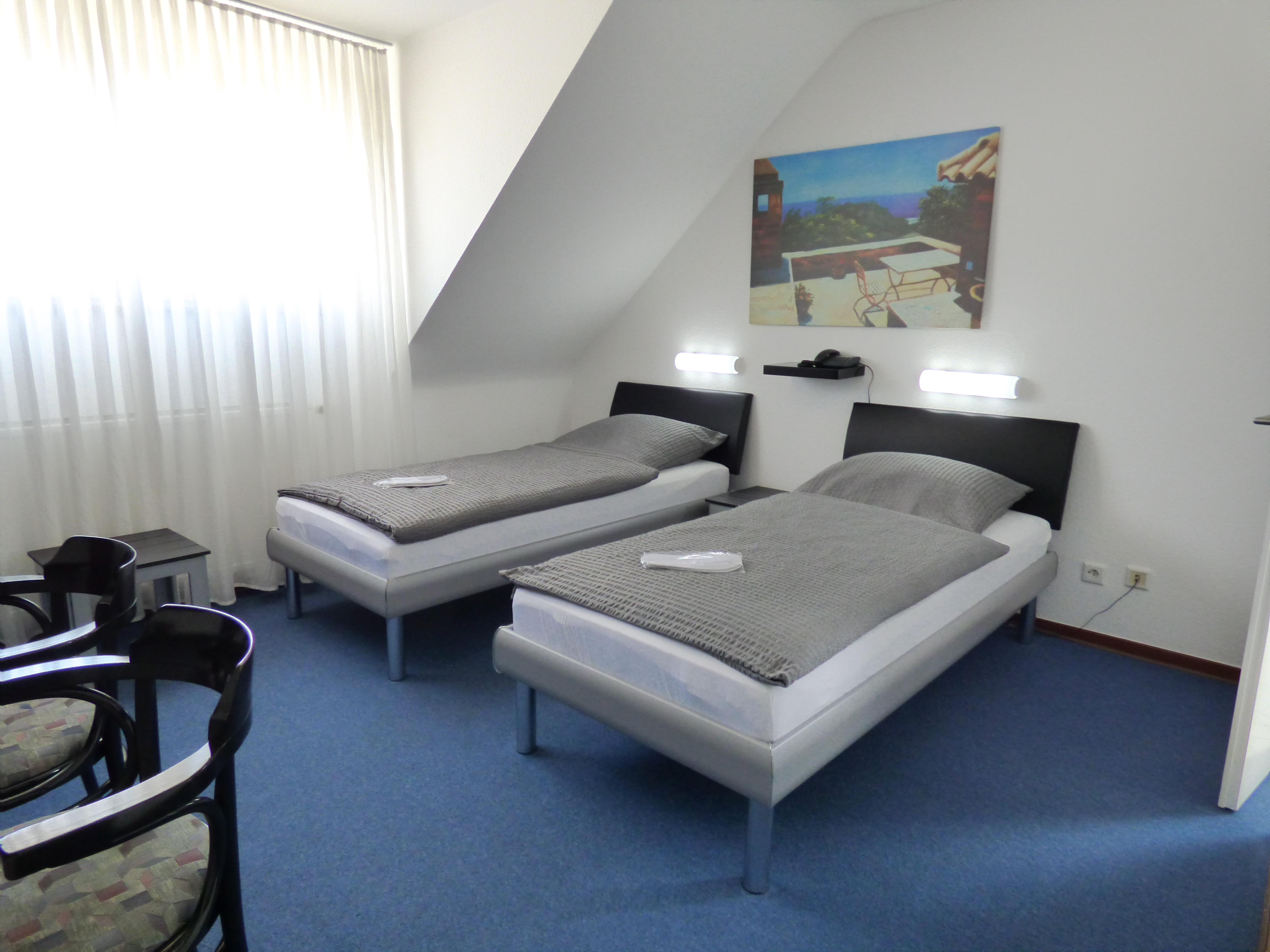 Double Room standard | Hotel Garni Alt Büttgen Kaarst Düsseldorf