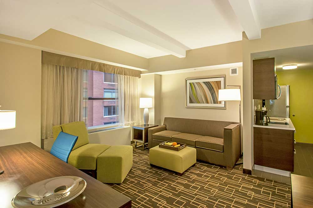 Hotel Rooms In Midtown NYC Residence Inn New York Manhattan