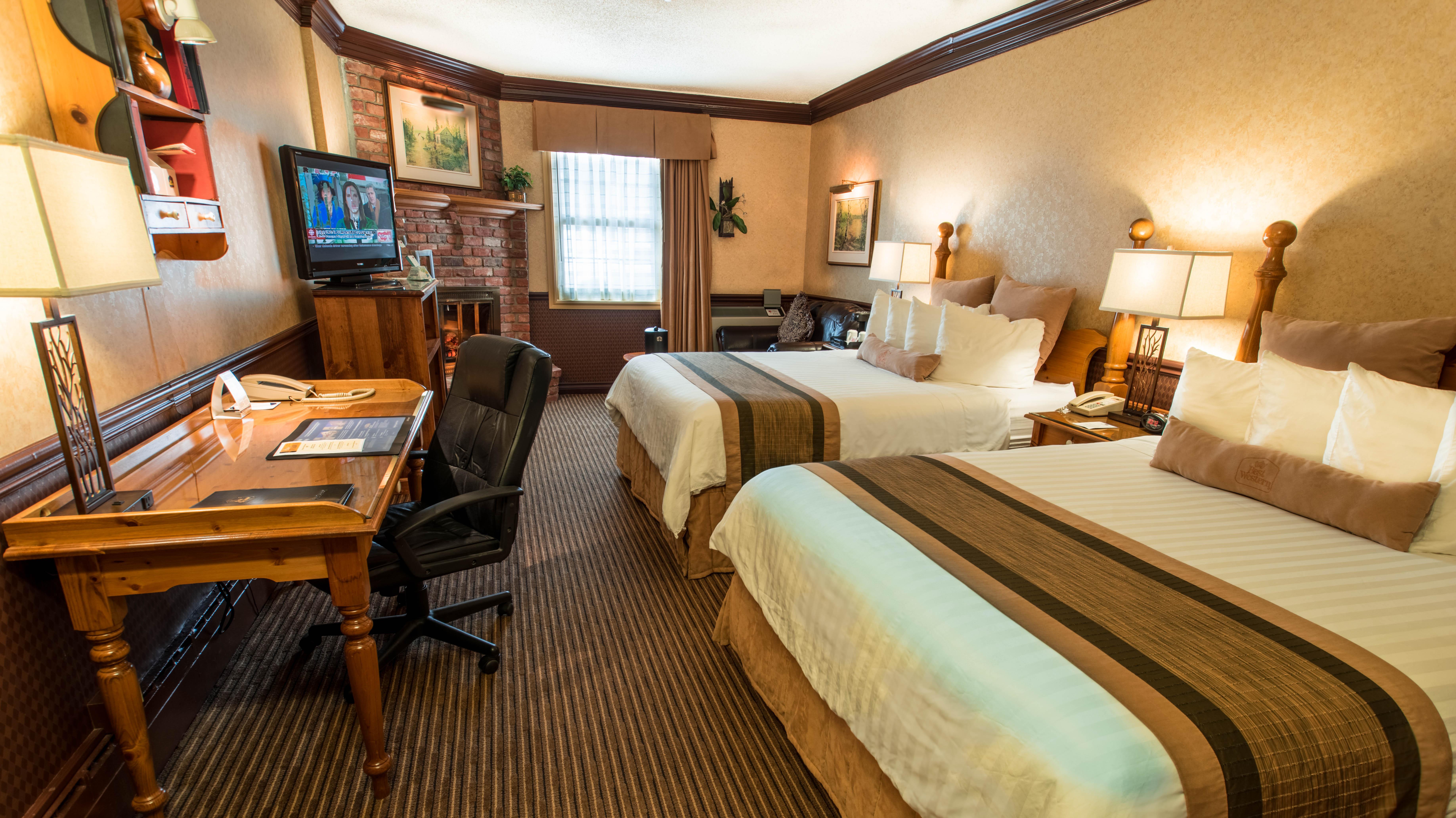 accommodations best western fireside inn