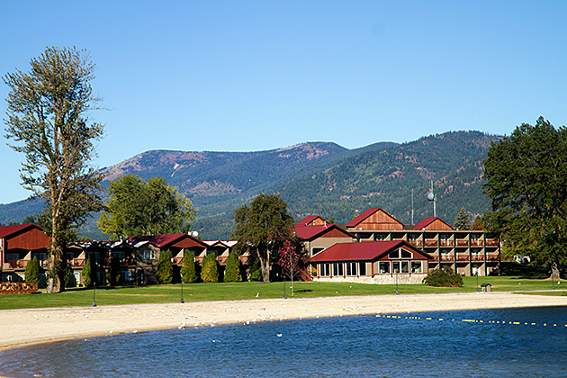 View Sandpoint Lodging Best Western Edgewater Resort