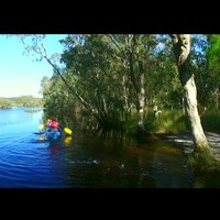 Saltwater Lagoon - great for Canoeing
