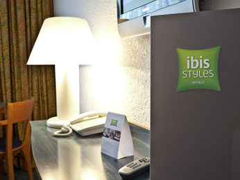 ibis Styles Chalon sur Saone Vista do quarto
