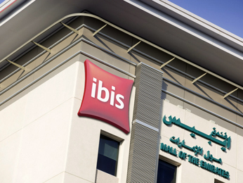 Ibis Mall Of The Emirates Set udefra