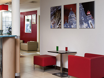Ibis Paris Ornano Montmartre Nord 18eme Bar/Lounge