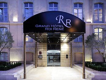 Grand Hotel Roi Rene Aix en Provence - MGallery Collection Set udefra