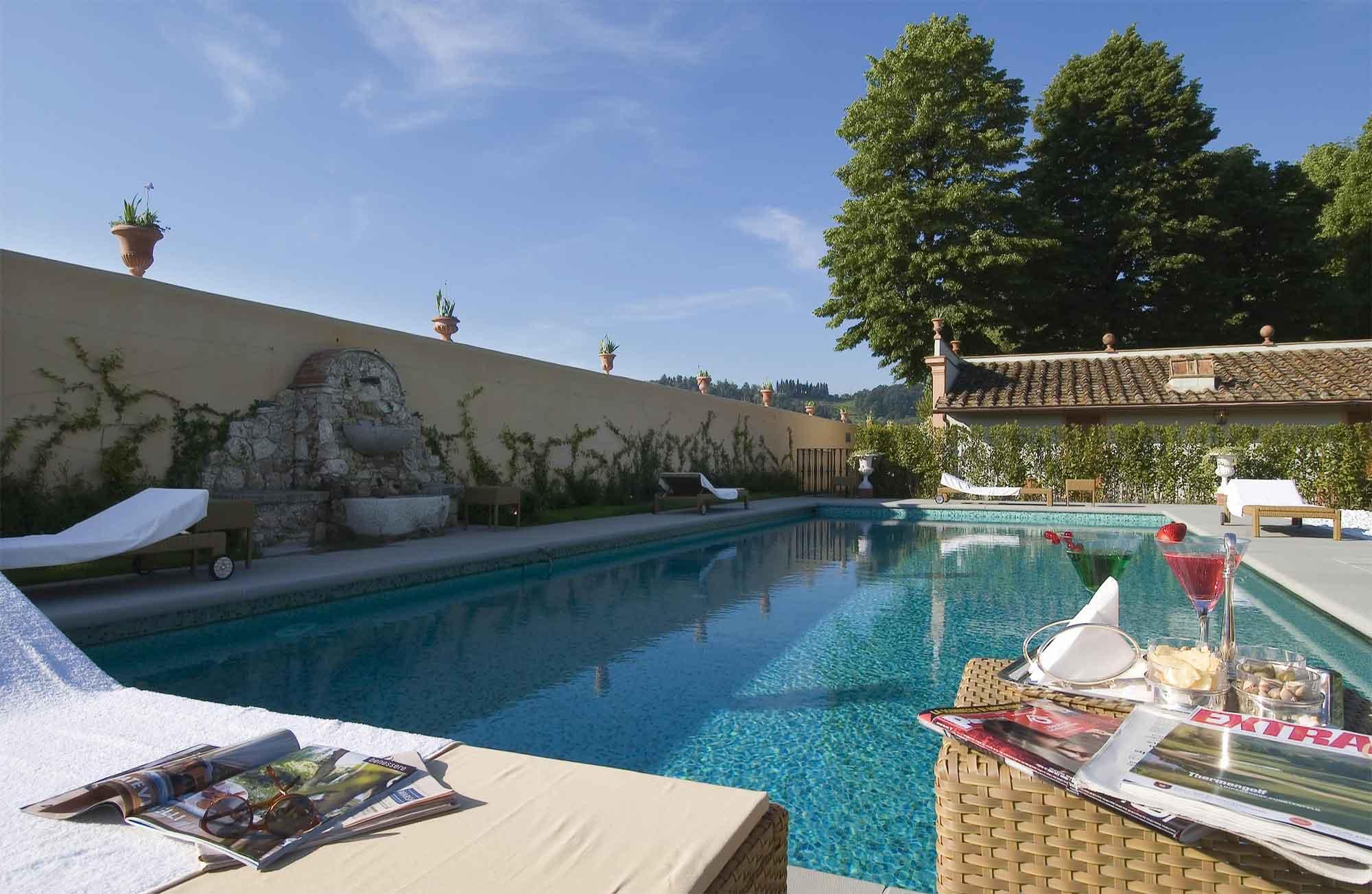 Villa Olmi Firenze - MGallery Collection Vista della piscina