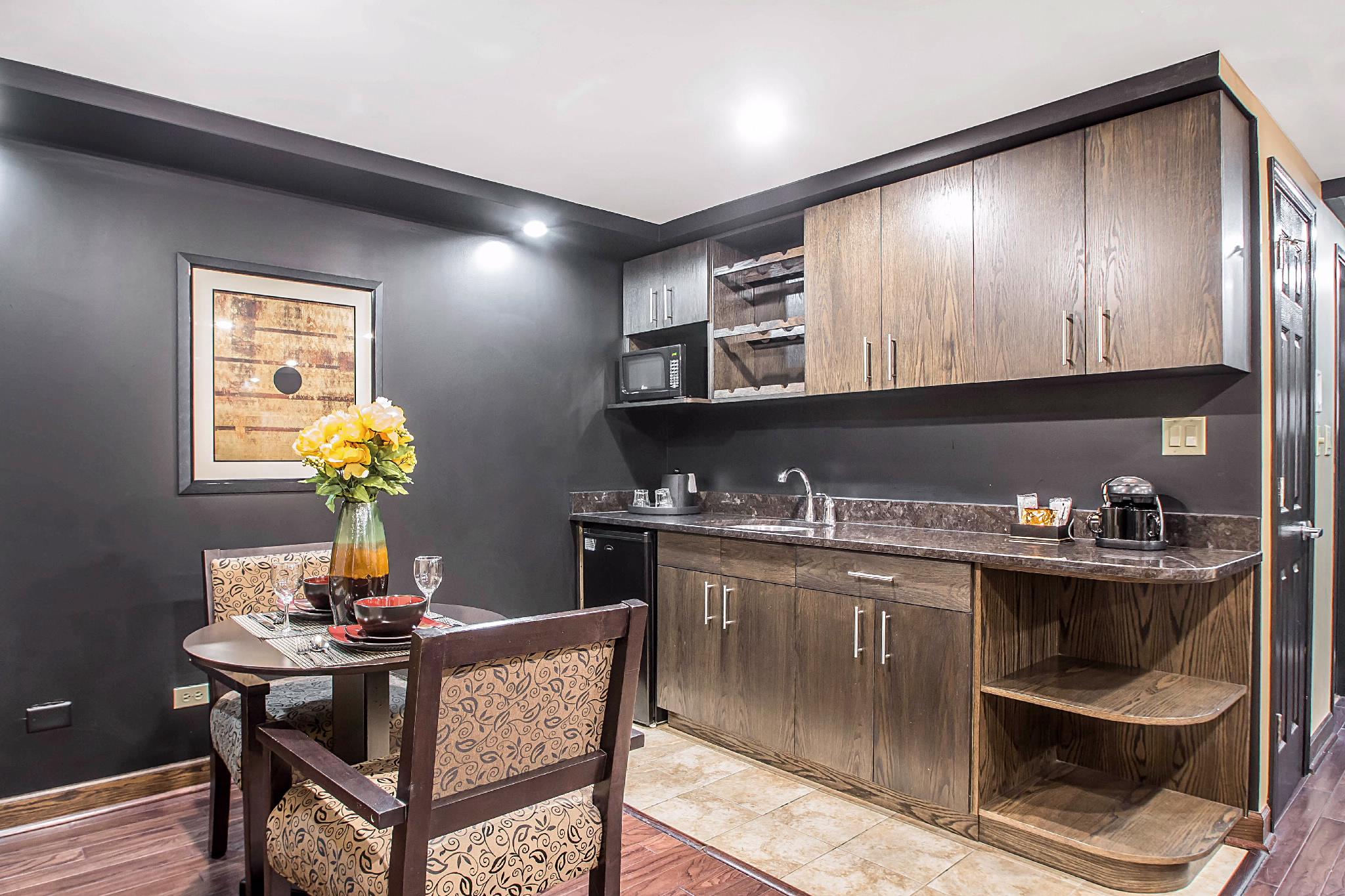 Kitchen In The Honeymoon Suite