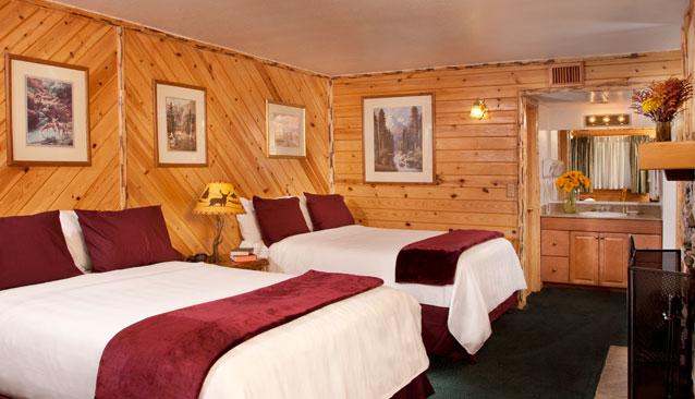 Bear Lake Hotel Queen Room