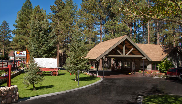Beau Big Bear Frontier Hotel And Cabin Rentals In Big Bear, California