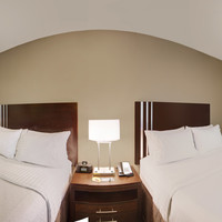 Get a 360-Degree View of our Two Queen Bed Guest Room