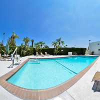 Enjoy Southern Caifornia's warm weather by the pool