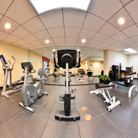 Stay active and enjoy an array of gym equipment