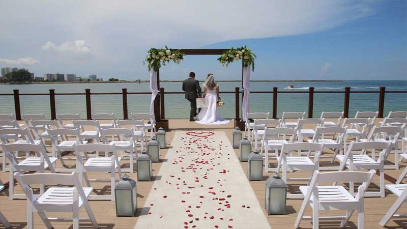 Weddings In Clearwater Beach Fl Edge Hotel Clearwater Beach