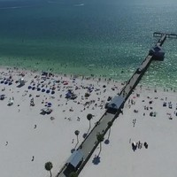 Clearwater Beach Phantom Drone