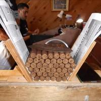 Hand Rolling Cigars At Ybor City, Tampa, Florida