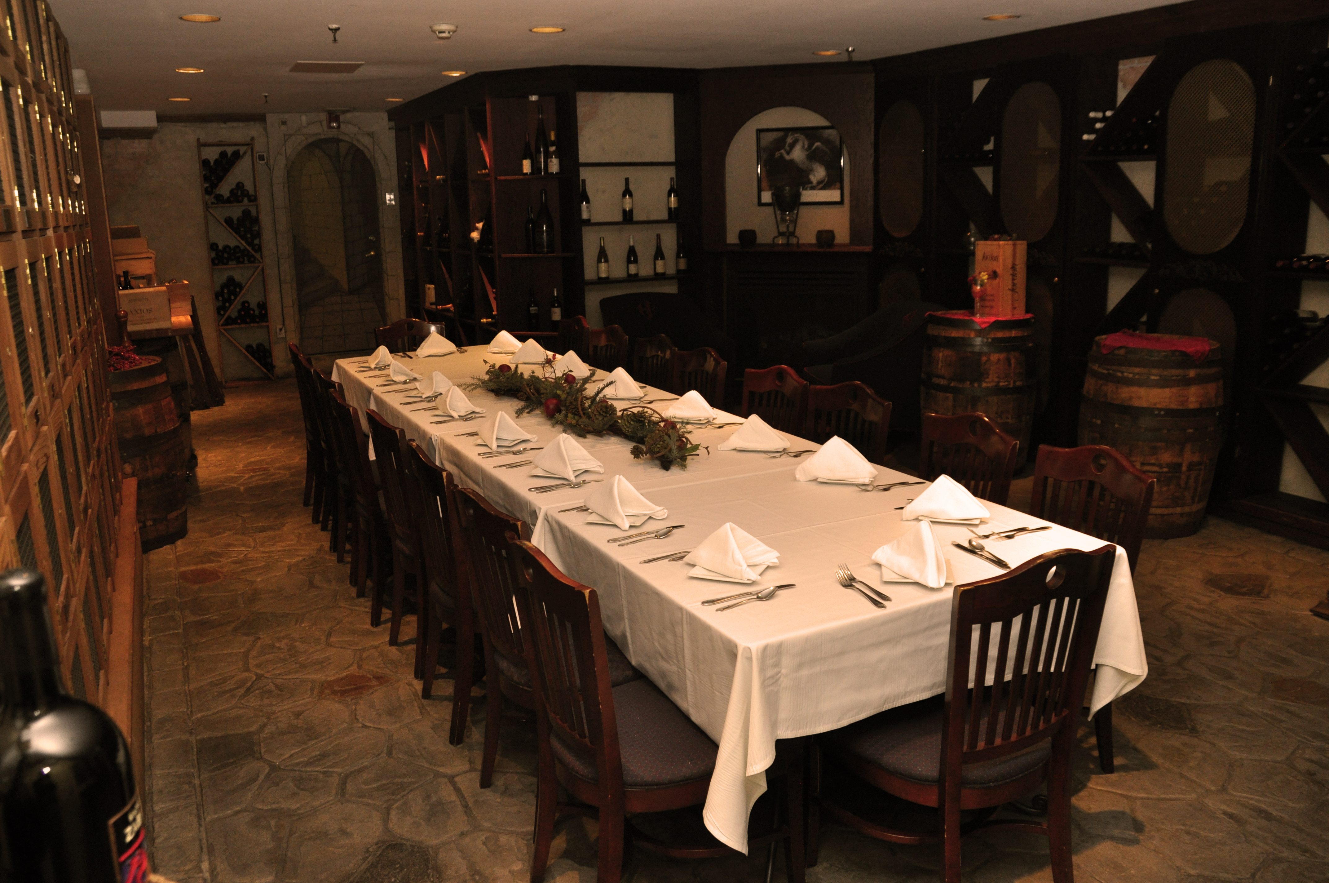 Harry Brown S Wine Cellar Private Dining Room