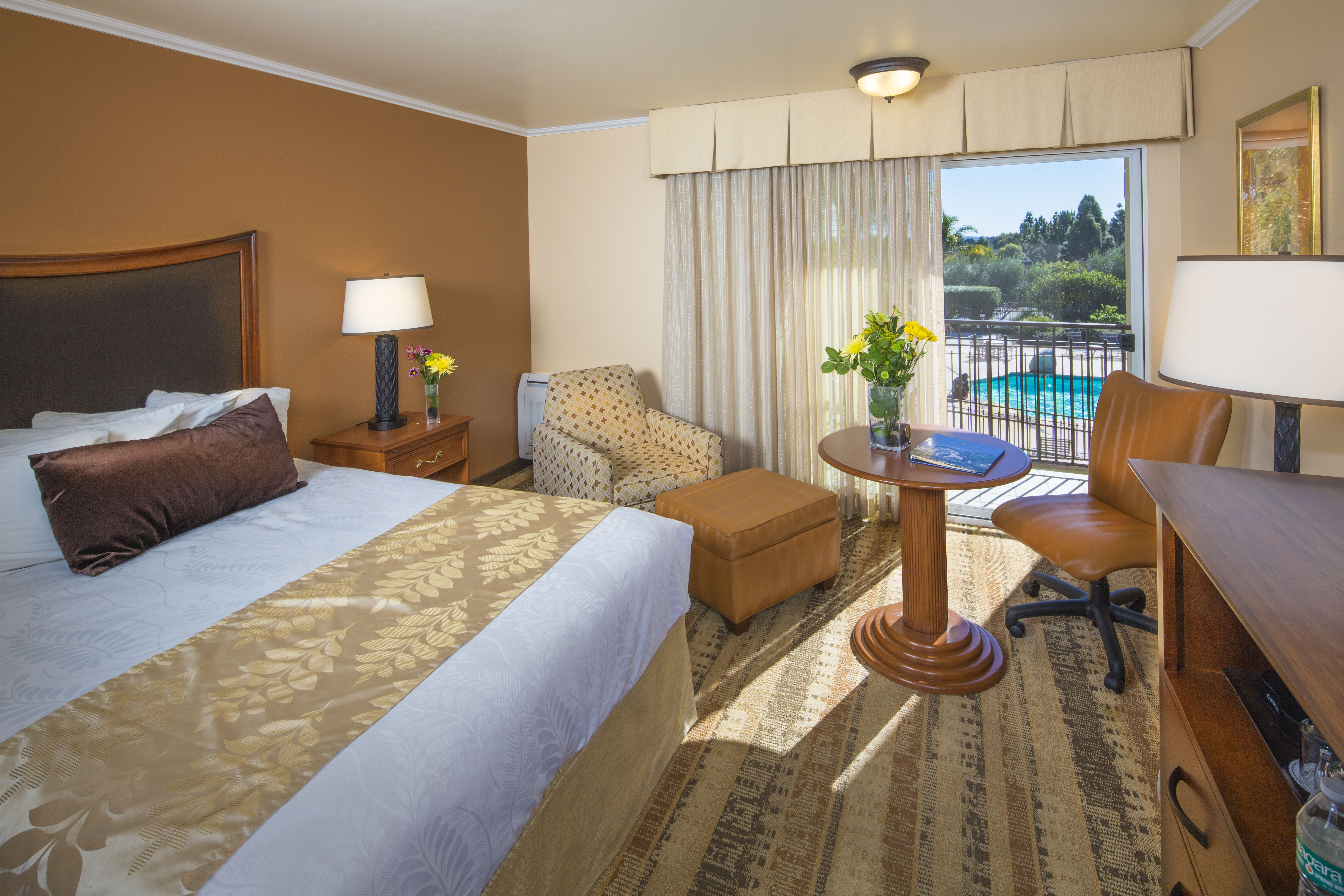 One King Pool View Room