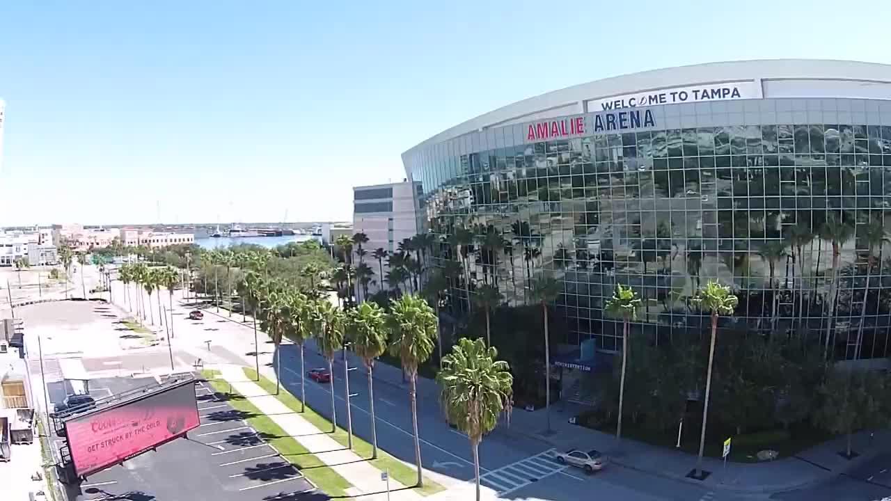 Amalie Arena Tampa Dji Phantom Vision Plus P V